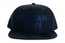 【キャップ】「YOKOHAMA BOYS 」SNAP BACK CAP [オールネイビー]