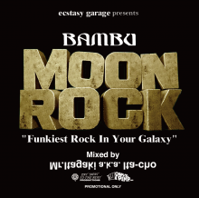 【All Funk/Rock/Breaks MIX!!】Mr.Itagaki a.k.a. Ita-cho / Bambu Moon Rock [4月上旬〜中旬入荷予定]