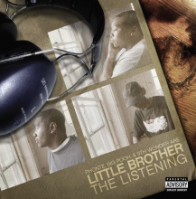 【限定再発+7inch】LITTLE BROTHER THE LISTENING [WHITE VINYL 2LP + 7INCH] (2017.07 月中旬入荷)<img class='new_mark_img2' src='//img.shop-pro.jp/img/new/icons15.gif' style='border:none;display:inline;margin:0px;padding:0px;width:auto;' />