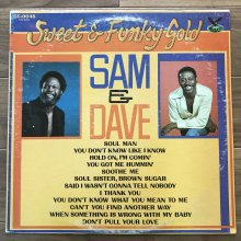 【USED】 Sam & Dave - Sweet & Funky Gold  [ Jacket : VG   Vinyl : EX ]