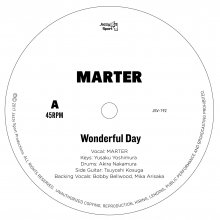 限定500枚【極上Reggae soul&Cover 7inch】MARTER / Wonderful Day -TOSHIZO SHIRAISHI / Lovely Day Ft. MARTER