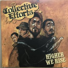 【USED】Collective Efforts - Higher We Rise  [ Jacket : EX   Vinyl :  EX ]