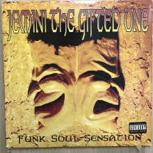【USED】Jemini The Gifted One - Funk Soul Sensation [ Jacket : VG   Vinyl :  EX- ]