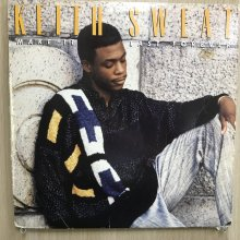 【USED】Keith Sweat - Make It Last Forever  [ Jacket : VG   Vinyl :  VG ]