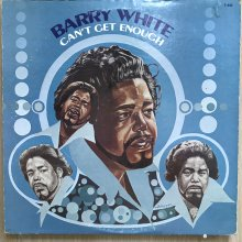 【USED】Barry White - Can't Get Enough  [ Jacket : VG-   Vinyl :  VG ]