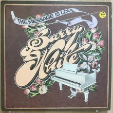 【USED】Barry White - The Message Is Love  [ Jacket : VG+   Vinyl :  VG+]