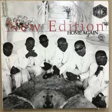 【USED】New Edition - Home Again  [ Jacket : EX   Vinyl :  EX]
