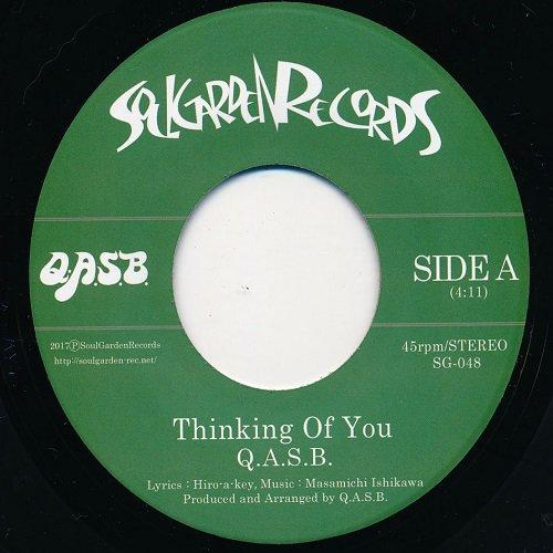 限定入荷 soul funk q a s b thinking of you 7inch