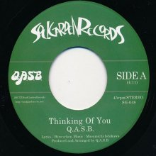 【限定入荷!!】【SOUL/FUNK】Q.A.S.B. / THINKING OF YOU (7inch)<img class='new_mark_img2' src='//img.shop-pro.jp/img/new/icons15.gif' style='border:none;display:inline;margin:0px;padding:0px;width:auto;' />
