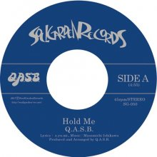 【SOUL/FUNK】Q.A.S.B. - Hold Me / You Make Me Feel  (7inch) [9月下旬]<img class='new_mark_img2' src='//img.shop-pro.jp/img/new/icons15.gif' style='border:none;display:inline;margin:0px;padding:0px;width:auto;' />