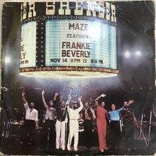 【USED】Maze Featuring Frankie Beverly - Live In New Orleans [ Jacket : VG-   Vinyl :  VG-]