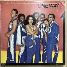 【USED】One Way - Love Is... One Way [ Jacket : VG+   Vinyl :  EX-]
