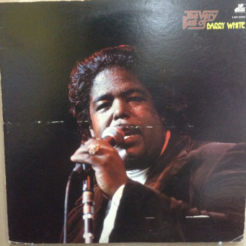 used barry white the very best of barry white jacket vg