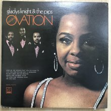 【USED】Gladys Knight & The Pips - Standing Ovation [ Jacket : EX-   Vinyl :  EX-]