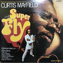 【USED】Curtis Mayfield - Super Fly [ Jacket : EX   Vinyl : EX- ]
