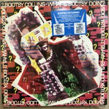 【USED】Bootsy Collins ‎– What's Bootsy Doin'? [ Jacket :  NM  Vinyl : EX ]