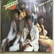 【USED】Tavares - Check It Out [ Jacket :  EX (シュリンク付き)   Vinyl : EX ]