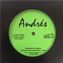 ANDRES - MIGHTY TRIBE  [12inch] [House/Crossover]