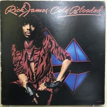 【USED】Rick James - Cold Blooded [ Jacket :  VG+  Vinyl : VG+ ]