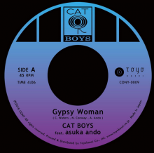 [4月中旬] CAT BOYS feat asuka ando - Gypsy Woman / DayDreaming (7inch)<img class='new_mark_img2' src='//img.shop-pro.jp/img/new/icons14.gif' style='border:none;display:inline;margin:0px;padding:0px;width:auto;' />