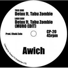 [2月23日] Awich - Detox ft. Tabu Zombie (MURO EDIT) (7inch)