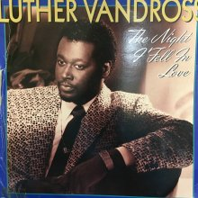 【USED】 Luther Vandross ‎– The Night I Fell In Love  [ Jacket : VG / Vinyl : VG+]