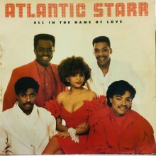 【USED】   Atlantic Starr ‎– All In The Name Of Love    [ Jacket : VG / Vinyl : VG ]
