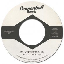[3月下旬]Mr. Wonderful Band - We Ain't Got No $$$ [7inch]<img class='new_mark_img2' src='//img.shop-pro.jp/img/new/icons14.gif' style='border:none;display:inline;margin:0px;padding:0px;width:auto;' />