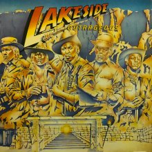 【USED】Lakeside - Outrageous [LP] [Jacket:EX- /Vinyl:VG+]