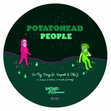 [5月中旬] POTATOHEAD PEOPLE - DO MY THING FEAT. ILLA J b/w RETURNING THE FLAVOUR [7inch]<img class='new_mark_img2' src='//img.shop-pro.jp/img/new/icons14.gif' style='border:none;display:inline;margin:0px;padding:0px;width:auto;' />