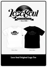 【6月中旬〜順次発送】LocoSoul Records ORIGINAL LOGO TEE