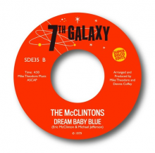 【6月中旬】THE McCLINTONS - STAR GAZER / DREAM BABY BLUE [7inch]
