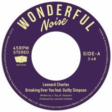 【再入荷】LEONARD CHARLES  - BREAKING OVER YOU FEAT. GUILTY SIMPSON [7inch]