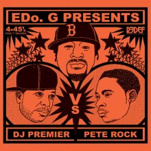 [9月上旬]EDO.G - DJ PREMIER VS. PETE ROCK [7inchx4]