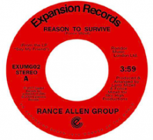 [8月下旬]RANCE ALLEN GROUP -  REASON TO SURVIVE / PEACE OF MIND[7inch]<img class='new_mark_img2' src='//img.shop-pro.jp/img/new/icons14.gif' style='border:none;display:inline;margin:0px;padding:0px;width:auto;' />