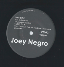 JOEY NEGRO - MUST BE THE MUSIC / PROVE THAT YOU'RE FEELIN ME [7inch]