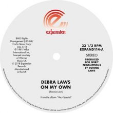 [9月下旬] Debra Laws - On My Own/Very Special [12inch]