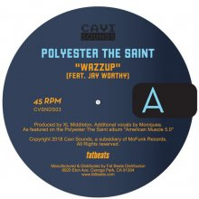 [10月上旬]  POLYESTER THE SAINT  -  WAZZUP  [7inch]