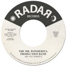 [12月上旬]The Mr. Wonderful Production Band - Are You Serious / Just Another From My Past [7inch]