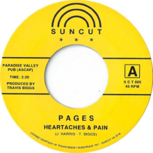 [10月下旬] PAGES - HEARTACHES & PAIN / MACK [7inch]<img class='new_mark_img2' src='//img.shop-pro.jp/img/new/icons14.gif' style='border:none;display:inline;margin:0px;padding:0px;width:auto;' />