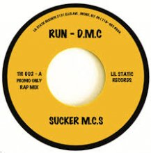 [ 12月上旬] RUN DMC - SUCKER MC'S (7inch) <img class='new_mark_img2' src='//img.shop-pro.jp/img/new/icons14.gif' style='border:none;display:inline;margin:0px;padding:0px;width:auto;' />