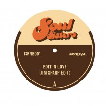 [2019年2月7日再入荷] JIM SHARP - EDIT IN LOVE b/w REMIND ME [7inch]