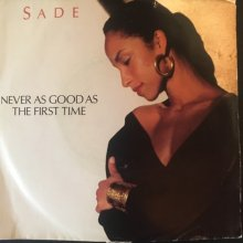 [USED] (7)  Sade-Never As Good As The First Time / Keep Hanging On (Live Inst)[Jacket:VG Vinyl:EX-]