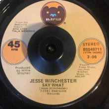 [USED] (7) Jesse Winchester - Say What / If Only [Jacket:- Vinyl:VG+]