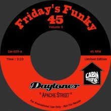 [2019年3月上旬] Daytoner - Apache Street / Michael's Incredible Twin [7inch]