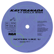 [2019年3月下旬] KAYTRANADA - NOTHIN LIKE U / CHANCES INSTRUMENTALS  [12inch]