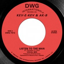 [2019年3月下旬] KEV-E-KEV & AK-B -  LISTEN TO THE MAN b/w KEEP ON DOIN  [7inch]