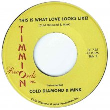 [2019年3月上旬] Carlton Jumel Smith & Cold Diamond & Mink - This Is What Love Looks Like! [7inch]<img class='new_mark_img2' src='//img.shop-pro.jp/img/new/icons14.gif' style='border:none;display:inline;margin:0px;padding:0px;width:auto;' />