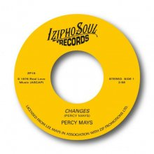 [2019年3月中旬] PERCY MAYS - CHANGES / CHASE AWAY THE BLUES[7inch]<img class='new_mark_img2' src='//img.shop-pro.jp/img/new/icons14.gif' style='border:none;display:inline;margin:0px;padding:0px;width:auto;' />