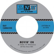 [2019年3月下旬] Ray Camacho - &#8203;Movin' On b/w Si Si Puede [7inch]<img class='new_mark_img2' src='//img.shop-pro.jp/img/new/icons14.gif' style='border:none;display:inline;margin:0px;padding:0px;width:auto;' />